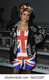 Paloma Faith at the Ashish Spring Summer 2012 show at London Fashion Week, London. 17/09/2011 Picture by: Steve Vas / Featureflash