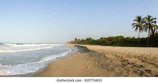 Palomino Beach in Colombia.