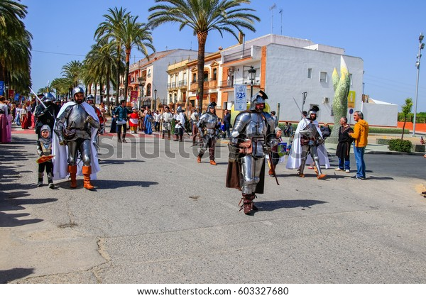 Palos De La Frontera Huelva Spain Stock Photo Edit Now 603327680