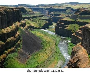 Palouse River and Canyon