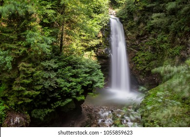 Palovit Waterfall in Kaçkar Mountains National Park is one of the highest waterfalls of Rize. This famous waterfall in a lush green forest is about 15 meters high and foam poured into a creek bed.