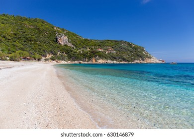 Paltsi beach in Pelio, Thessaly, Greece