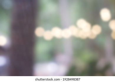 Palu, Indonesia - March 3rd 2021 : Defocused abstract background of window panes and lamps