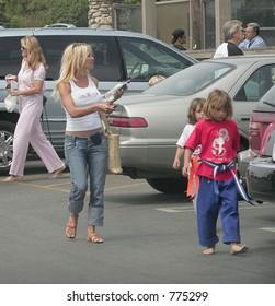 Pamela Anderson, kids