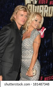 Pamela Anderson,Hauns Klok at 2007 MTV VMA Video Music Awards - ARRIVALS, Palms Casino, Las Vegas, NV, September 09, 2007