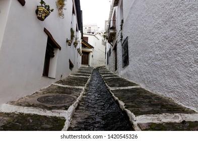 Pampaneira Town. Alpujarras, Granada, Spain