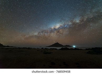 Pan de Azúcar, is located between the region of Atacama and Antofagasta, Chile. This Photograph was captured during the night of the end of August of 2017
