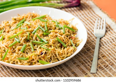 Pan fried noodles is a another yet another quick and easy noodle recipe.