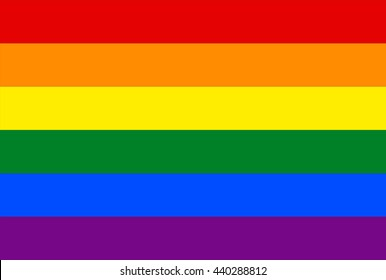 Pan tone color of symbol of LGBT group,