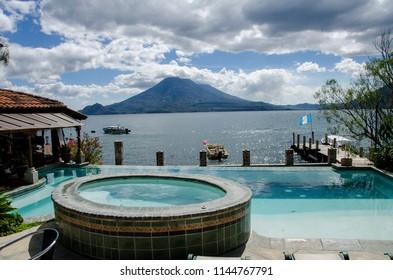 Panajachel, Lake atitlan Guatemala .