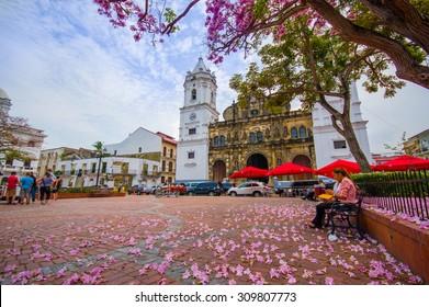 Panama Cathedral, Sal Felipe Old Quarter, UNESCO World Heritage Site, Panama City, Panama, Central America