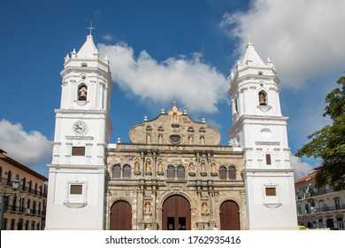 Panama Cathedral, San Felipe Old Quarter, UNESCO World Heritage Site, Panama City
