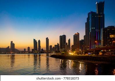 Panama City Sunset