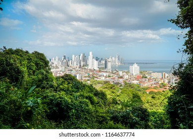 Panama City view from Ancon Hill, 13 february 2018
