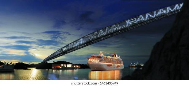 Panama city/Panama-07/20/2019 photo from Panama Canal in Panama