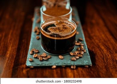 Panama Geisha Coffee. Coffee Tasting