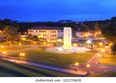PANAMA, OCT 21: Goethals Memorial in Panama. George Goethals (29 Jun 1858 - 21 Jan 1928) best known for his supervision of construction of the Panama Canal in Oct 21, 2018.