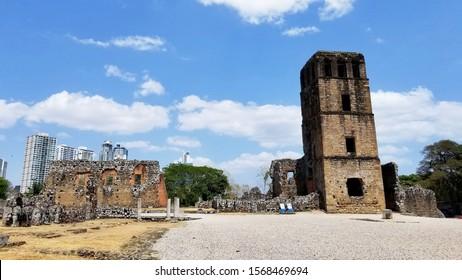 Panama Viejo, Ruins of Panama Viejo, Panama, UNESCO World heritage
