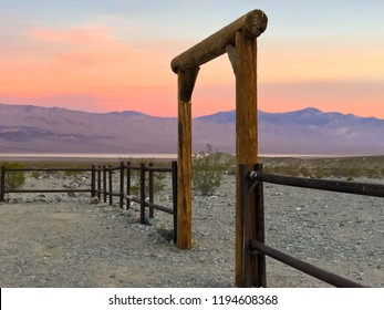 Panamint Springs campground, Death Valley, California, USA