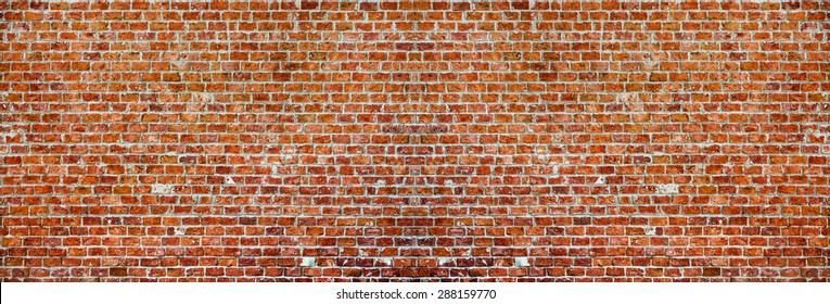 Panaromic Brick Wall