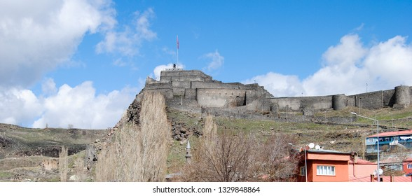 Panaromic View of Kars Castle, Kars, Turkey