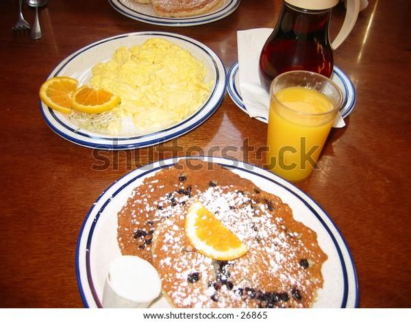 pancake breakfast at the fog island cafe