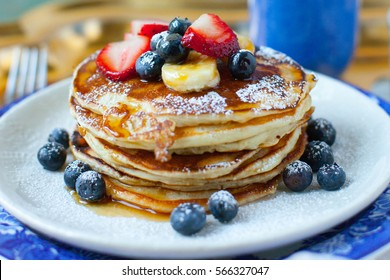 Pancake breakfast images stock photos vectors shutterstock pancakes ccuart Images