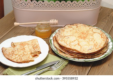 pancakes on breakfast