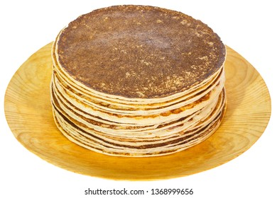 Pancakes with transparent background