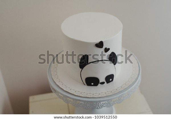 Strange Panda Bear Birthday Cak Stock Photo Edit Now 1039512550 Funny Birthday Cards Online Inifofree Goldxyz