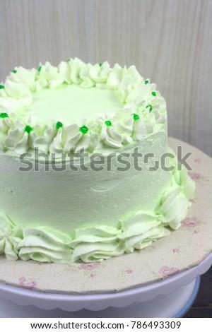 Pandan Flavor Cake Extract Pandan Leaf Stock Photo Edit Now