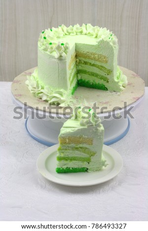 Pandan Flavor Cake Extract From Leaf