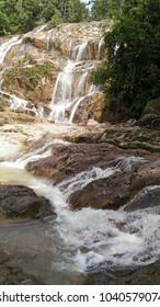 Pandan Waterfall in Kuantan, Malaysia is one of tourist attraction.