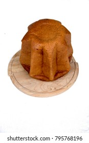 Pandoro traditional italian Christmas cake