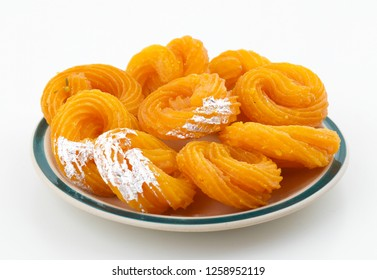 Paneer Jalebi, also Know as Chhena Jalebi, Chhena Jilapi or Zulbia is a Indian Sweet Food