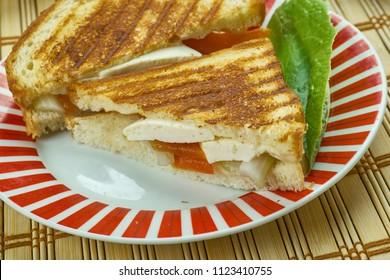 Paneer Sandwich - Indian cottage cheese and sweet corn sandwich