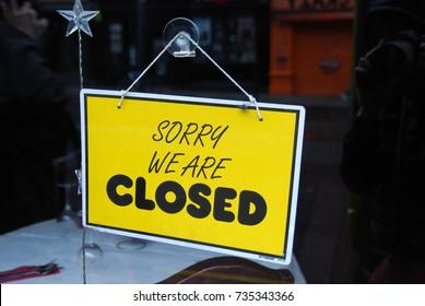 Panel closed