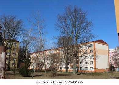 panel house in czech republic