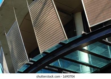 Panels of a trendy condo/apartment/flat.