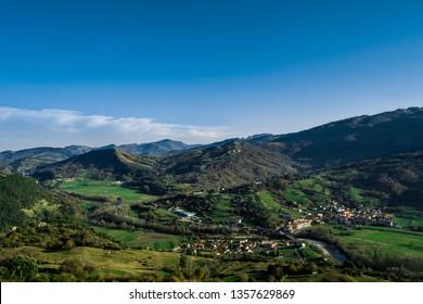 Panes from Alevia, Asturias, Spain.