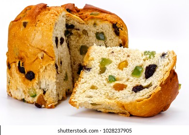Panettone with candied fruits