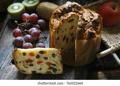 Panettone is the traditional Italian dessert for Christmas