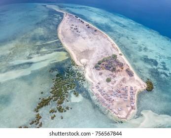 Pangabatang Island and his reef