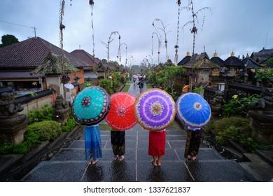 Panglipuran village in Bali