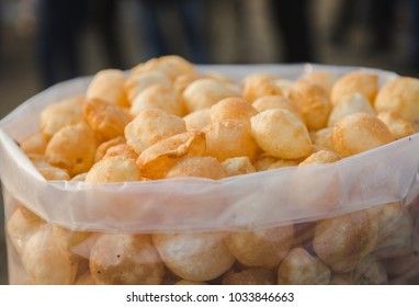 Pani puri,also known as golgappa and puchka is a famous snack food all over india.
