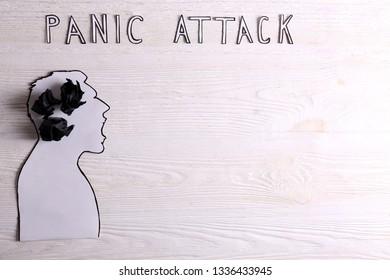 Mental breakdown or panic attack