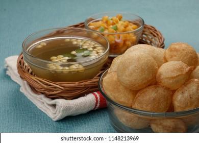 Panipuri or pani puri, golgappa