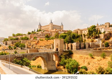Paniramic view of Toledo, Spain, UNESCO World Heritage
