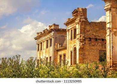 Pankeev estate in village Vasilyevka, Odessa region, Ukraine