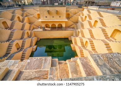 Panna Meena ka Kund  step-well near Amber Fort and it was amazing, Jaipur, Rajasthan - India